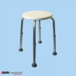 Taboret / stołek prysznicowy okrągły AR-201 ARmedical