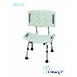Krzesło prysznicowe z oparciem TIMAGO FS 798L
