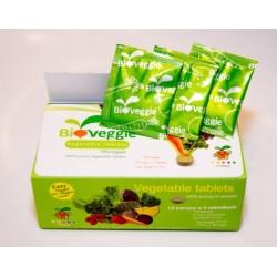 Tabletki warzywne Bioveggie zestaw