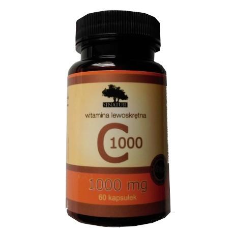 SINATUR WITAMINA C 1000 mg - 60 kaps.