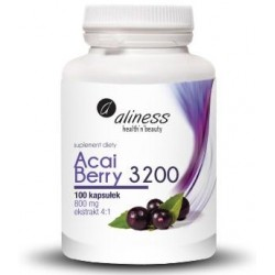 Acai Berry 3200 z acerolą i chromem Aliness