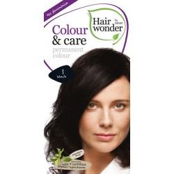 Hairwonder 1 - farba do włosów bez amoniaku Black