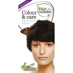Hairwonder 3 - farba do włosów bez amoniaku Dark brownn