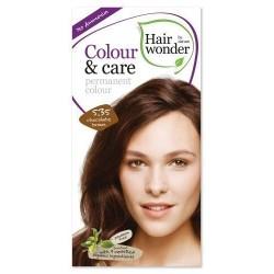 Hairwonder 5.35 - farba do włosów bez amoniaku Chocolate brown
