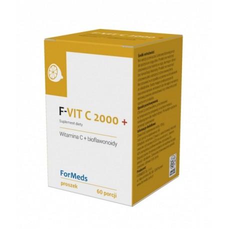 F-VIT C 2000+  WITAMINA C 60 porcji