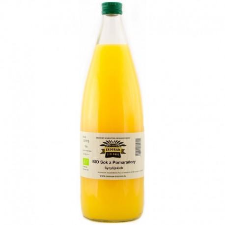 BIO Sok z Pomarańczy Sycylijskich - 1 Litr - EKOGRAM ZIELONKI