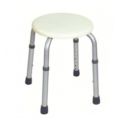 Taboret / stołek prysznicowy okrągły VITEA CARE