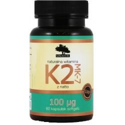 SINATUR WITAMINA K2 100 mcg - 60 kaps.