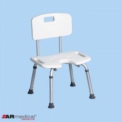 Krzesło prysznicowe z wycięciem U AR-208 ARmedical