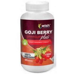 Goji Berry Premium Plus 1500mg® 60 kapsułek WISH