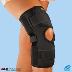 Orteza na kolano z dwuosiowymi szynami bocznymi zapinana SP-A-824