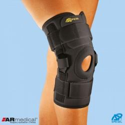 Neoprenowa orteza stawu kolanowego z regulacją kąta zgięcia – wciągana SP-A-825