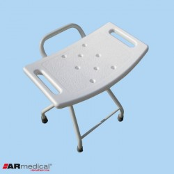 Taboret prysznicowy składany stalowy AR-204 ARmedical