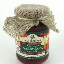 Konfitura truskawkowa  z wanilią 200g
