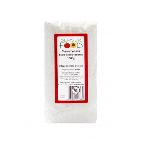Mąka gryczana biała bezglutenowa 1000g Denver Food