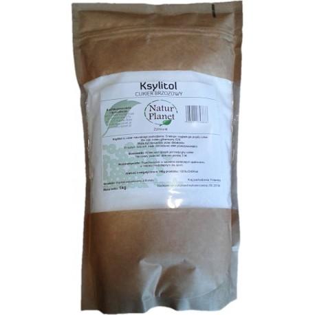 Ksylitol cukier brzozowy 1 kg  FIŃSKI Natur Planet
