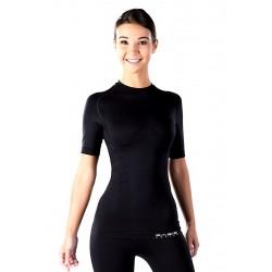 Męska koszulka kompresyjna z krótkim rękawem BASIS ACTIVE® POWER BOOSTER