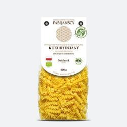 Makaron kukurydziany  świderek BIO 300g-Fabijański