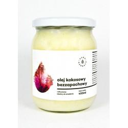 Olej kokosowy, rafinowany, bezzapachowy Aura Herbals 450 ml
