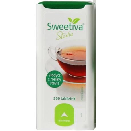 Słodzik Sweetivia Stevia x 500 tabl.