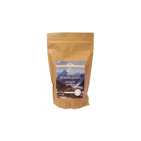 Sól himalajska różowa gruba 1 kg Pięć Przemian