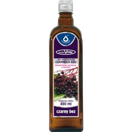 Sok z owoców czarnego bzu SambuVital 490 ml OLEOFARM