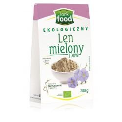 Len mielony Bio 200g Look Food