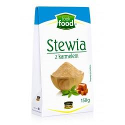 STEVIA STEWIA Z KARMELEM LOOK FOOD 150G