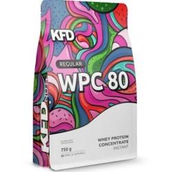BIAŁKO REGULAR WPC 80 CZEKOLADOWE 750 G KFD