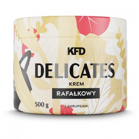DELICATES - KREM RAFAŁKOWY Z CHRUPKAMI - 500 G KFD