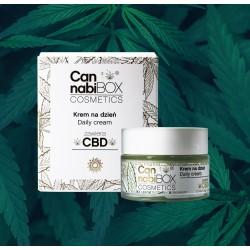 Krem do twarzy na dzień CannabiBOX Cosmetics 50 ml