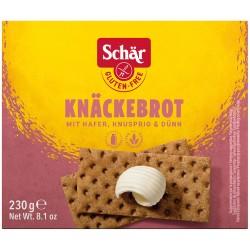 Bezglutenowe pieczywo chrupkie  230g Knackebrot Schar