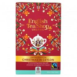 "HERBATA CZARNA EKOLOGICZNA BIO  ""CHRISTMAS IN CEYLON"" Limited Edition 20t. English Tea Shop"