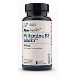 Pharmovit Witamina B3 niacin x 60 kapsułek