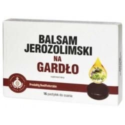BALSAM JEROZOLIMSKI NA GARDŁO PASTYLKI DO SSANIA 16 PAST.