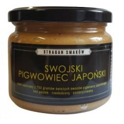 Krem owocowy swojski pigwowiec japoński 100% 300g