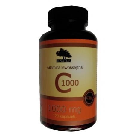 SINATUR WITAMINA C 1000 mg - 120 kaps.