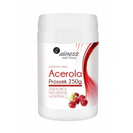 Acerola Proszek 250 g- naturalna witamina C Aliness