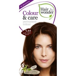 Hairwonder 3.44 - farba do włosów bez amoniaku Dark copper brown