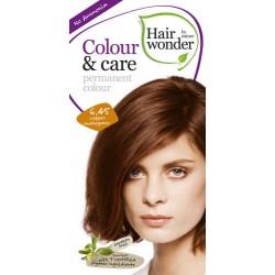 Hairwonder 6.45- farba do włosów bez amoniaku copper mahogany