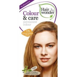 Hairwonder 7.3 - farba do włosów bez amoniaku medium golden blond