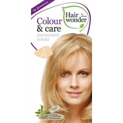 Hairwonder 8 - farba do włosów bez amoniaku light blond