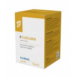 F-CURCUMIN  Ekstrakt z kurkumy i czarnego pieprzu 60 porcji  FORMEDS