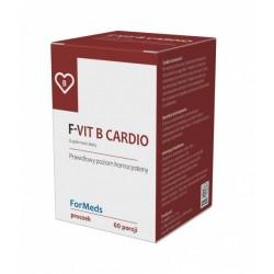 F-VIT B CARDIO Witaminy B6 i B12 +kwas foliowy  60 porcji FORMEDS