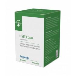 F-VIT E 200 witamina E (bursztynian D-alfa tokoferylu) 60 porcji FORMEDS