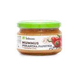 Hummus pikantna papryka + nasiona chia Intenson 190g