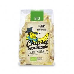 Chipsy bananowe niesłodzone BioPlanet 150g