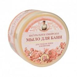 Bania Agafii -  Mydło kwiatowe naturalne do ciała i włosów 500 ml