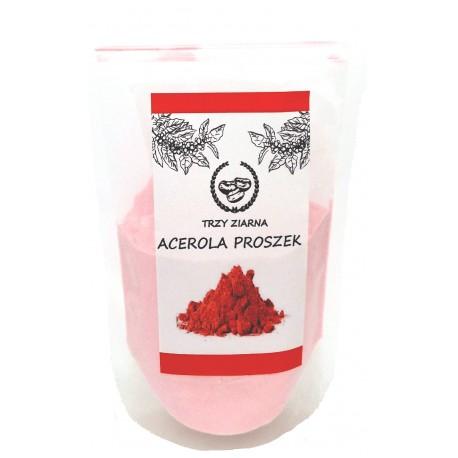 ACEROLA - Ekstrakt z Aceroli proszek 250g Trzy Ziarna