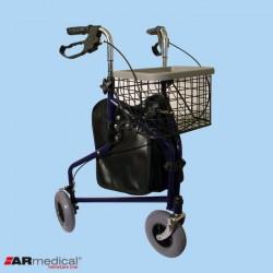 Podpórka trójkołowa z torbą i koszykiem ARmedical